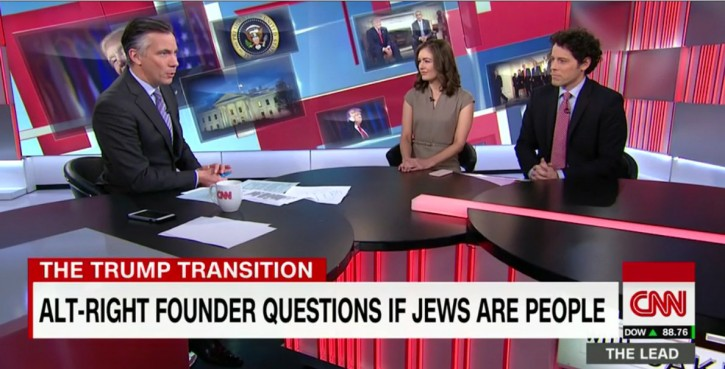CNN and Jake Tapper Apologize For Banner Text Which Asked 'Are Jews People?'