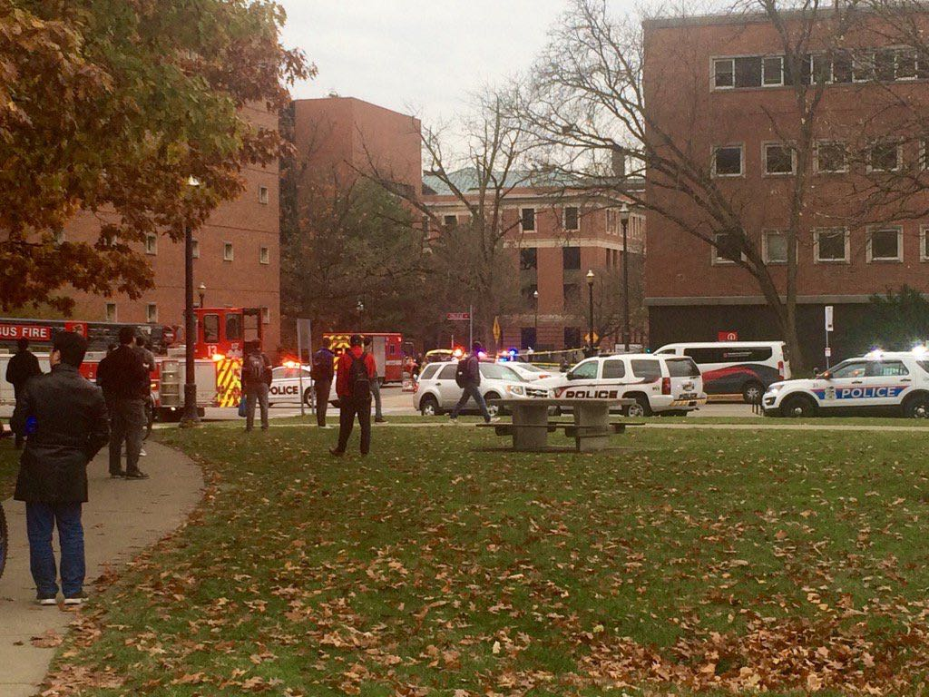 Active shooter reported at Ohio State University