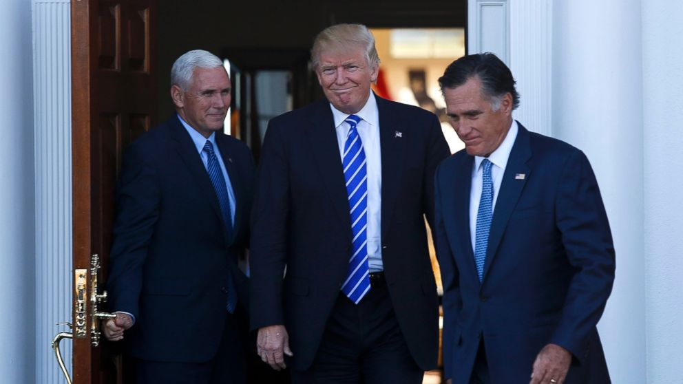 Trump Faces Pushback From Base, Allies Over Romney Musings