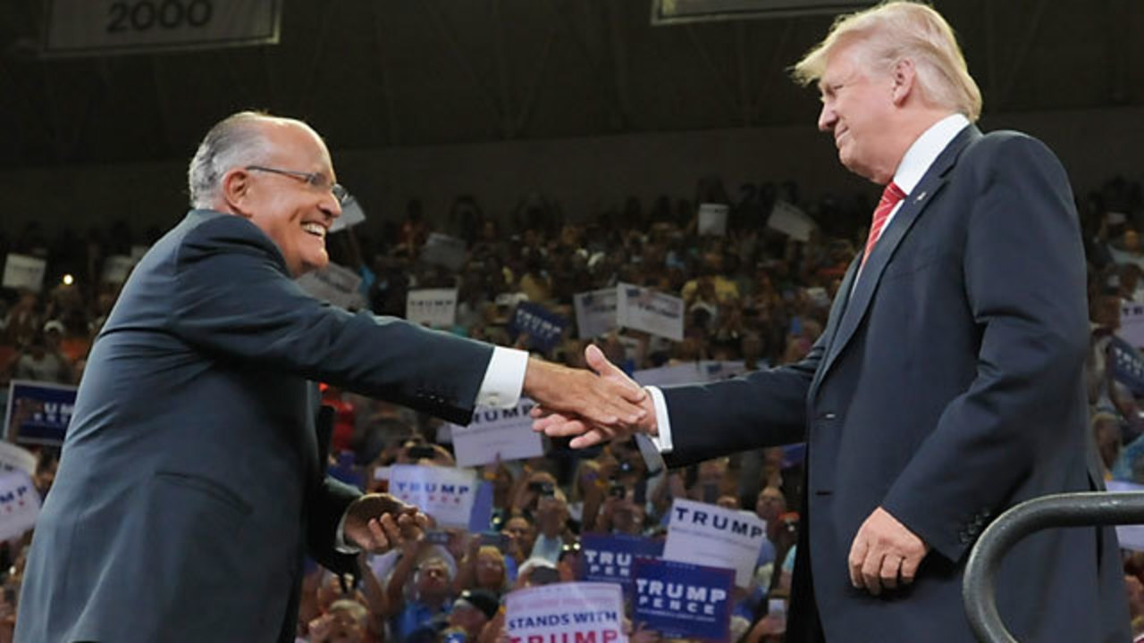 GIULIANI OUT: Former NYC Mayor Removes His Name From Consideration For A Position With Trump Administration