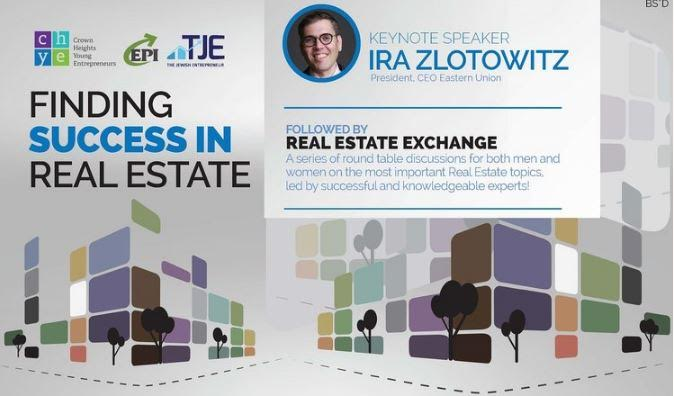 Seminar for the Jewish Community to Explore Real Estate Business
