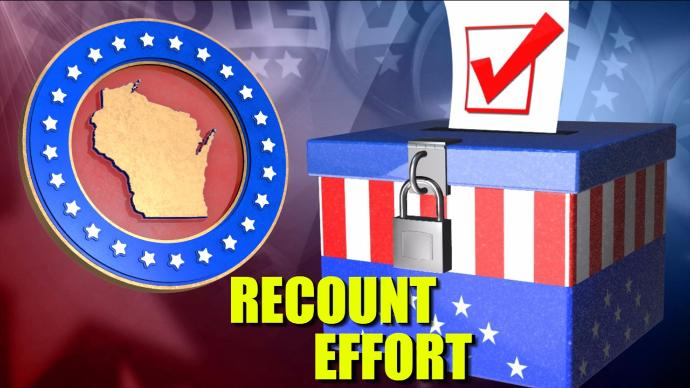 Presidential Election Recount Set To Begin In Wisconsin