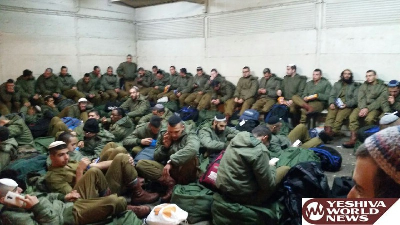 PHOTOS: 140 Chareidi Recruits Entered The IDF Today. 121 Assigned To Netzach Yehuda (Nachal Chareidi), 19 To Negev Defense