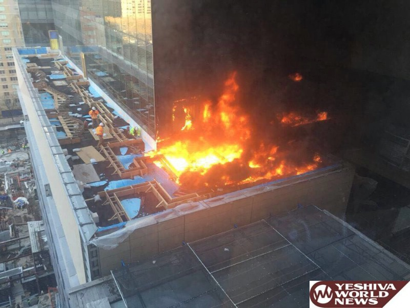 Two Alarm Fire Breaks Out at NYU Hospital Under Construction
