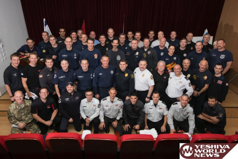 US Firefighters, Jet911 And Other First Responders Thanked by Israel For Assistance During Wildfires [VIDEO AND PHOTOS]