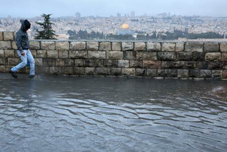 Winter Appears To Have Arrived In Yerushalayim