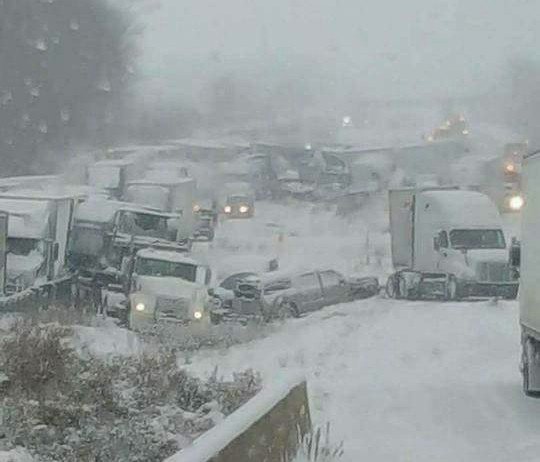 Ohio Interstate Opens 14 Hours After 50-Vehicle Pileup