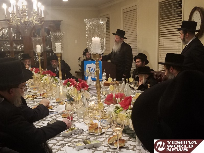 Photo Essay: Mesibah For The TAG Organization In Boro Park With The Participation Of The Skulener Rebbe (Photos by JDN)