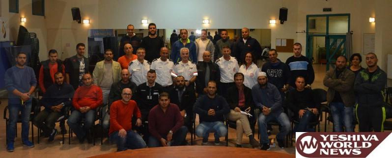 40 Baka el-Garbiya Residents To Become EMTs And Join The Ranks Of MDA