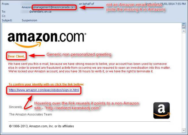 SCAM ALERT: Amazon Shoppers Targeted In 'Order Cannot Be Shipped
