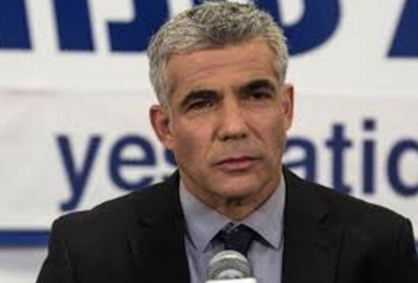 A Determined Yair Lapid Ties With Likud In The Latest Poll