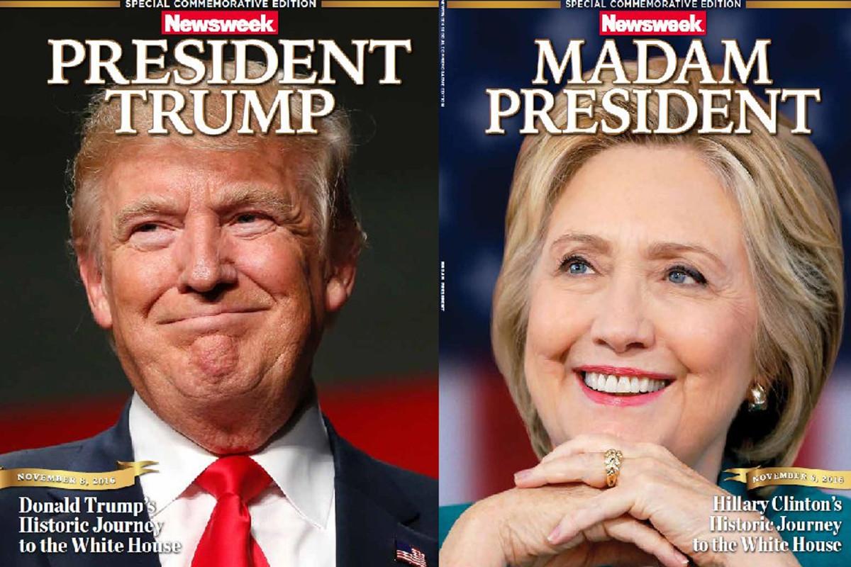 Recalled Newsweek 'Madam President' Clinton Issue Hits eBay