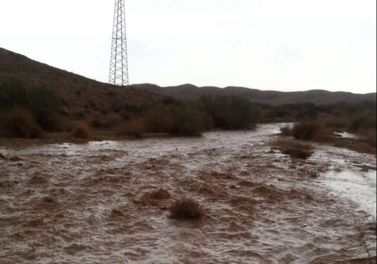 Shabbos Storm Brought Badly Needed Rainfall To Areas Of Eretz Yisrael