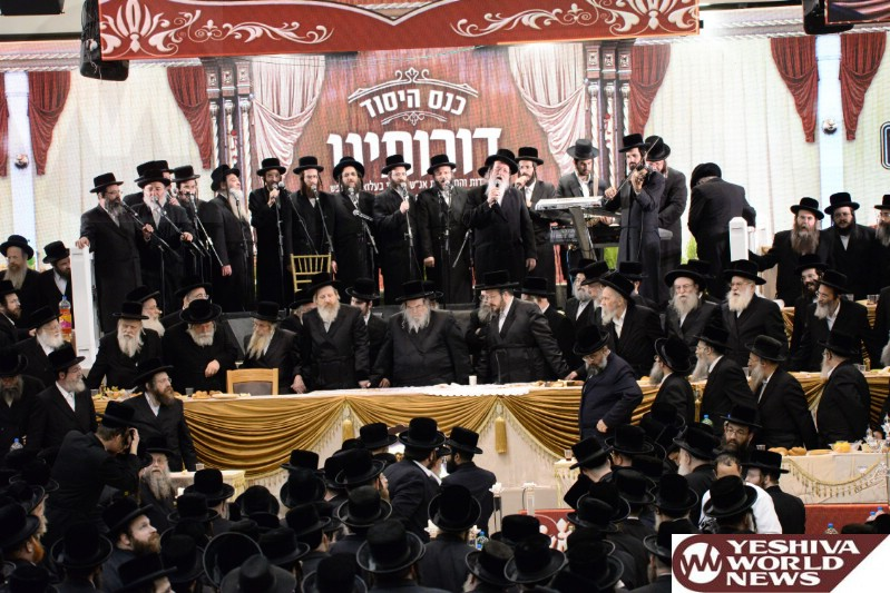 Photo Essay: 1000s Of Belzer Chasidim At The 'Doroseinu Event' Attended By The Belzer Rebbe (Photos by JDN)
