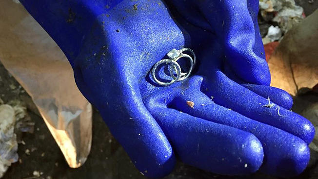 New York City Woman Finds Lost Wedding Ring in Trash Dump