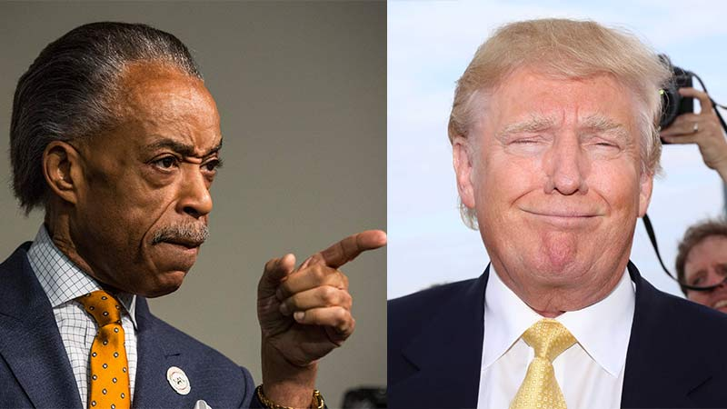 Trump Surprises Al Sharpton With Phone Call