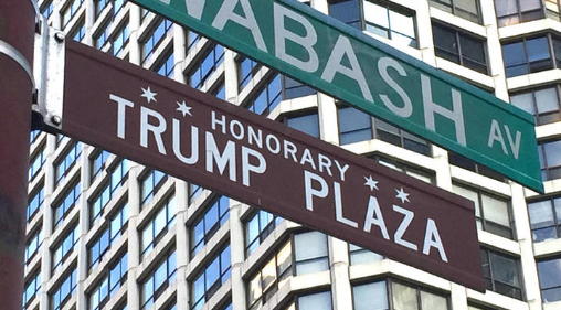 Honorary Trump Street Signs Removed From Downtown Chicago