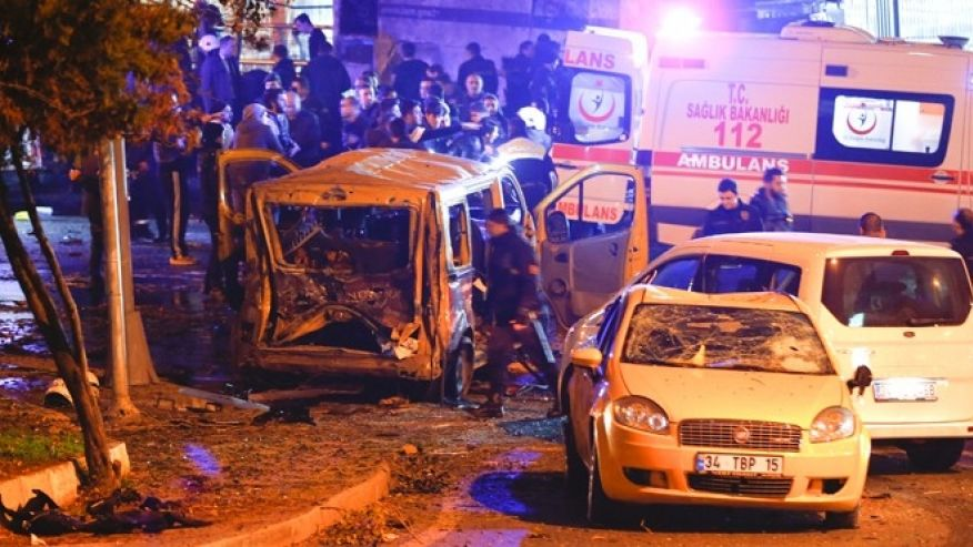 TERROR IN ISTANBUL: 21 Dead, 166 Wounded In Twin Bomb Attack Outside A Stadium In Istanbul, Turkey
