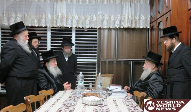 Photo Essay: Nadvorna Rebbe Visiting Rav Shmuel Eliezer Stern (Photos by JDN)