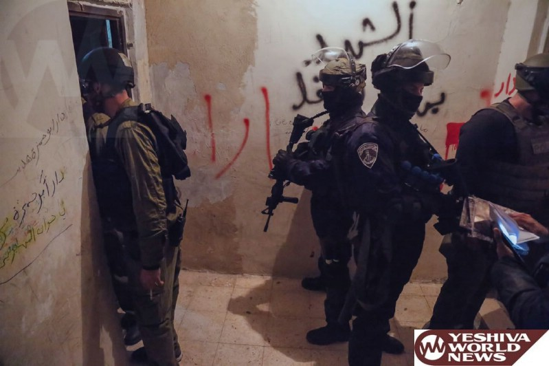 PHOTOS: Israel Police Operate In Shuafat And Make Arrests