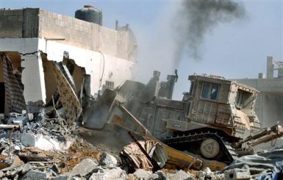 Illegal Buildings Being Razed In Um Chiran