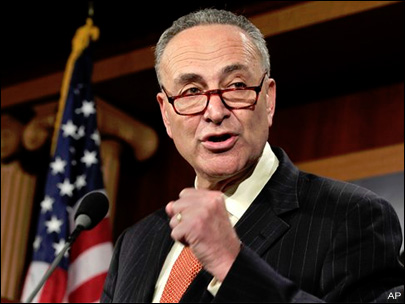 Schumer: Airlines Shouldn't Charge Extra For Overhead Bin