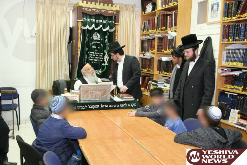VIDEO AND PHOTOS: Symbolic Bris Milah for Jewish Children Rescued from Arab Villages