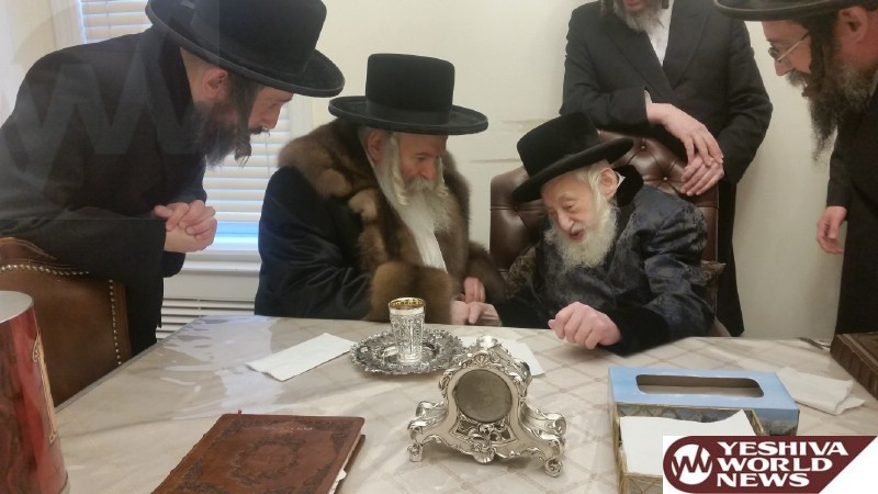 Photo Essay: Bobover Rebbe Visiting The Skulener Rebbe (Photos by JDN)