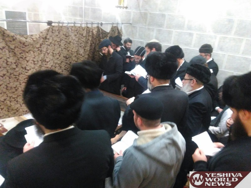PHOTOS: Hundreds Of Israelis Spend Shabbos In Haditch At The Baal HaTanya's Tziyun