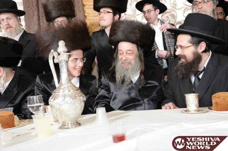 Photo Essay: Wedding For Daughter Of The Zvehill Rebbe With Son Of Rav Yakov Yosef Schlaf (Photos by JDN)