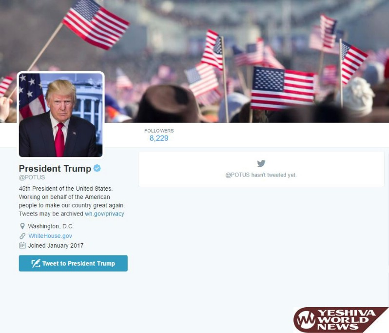 We Have A New @POTUS Twitter Account - Trump Has Not Yet Tweeted