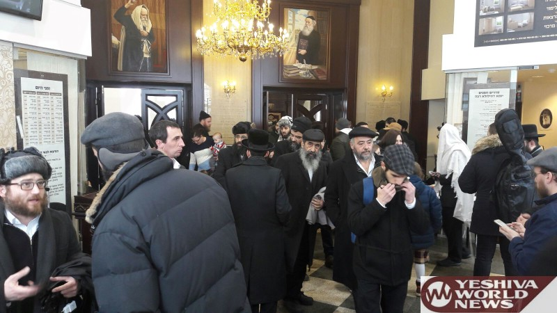 PHOTOS: 1,500 Mispallalim Visit The Tziyun Of The Bal HaTanya On The Yahrzeit