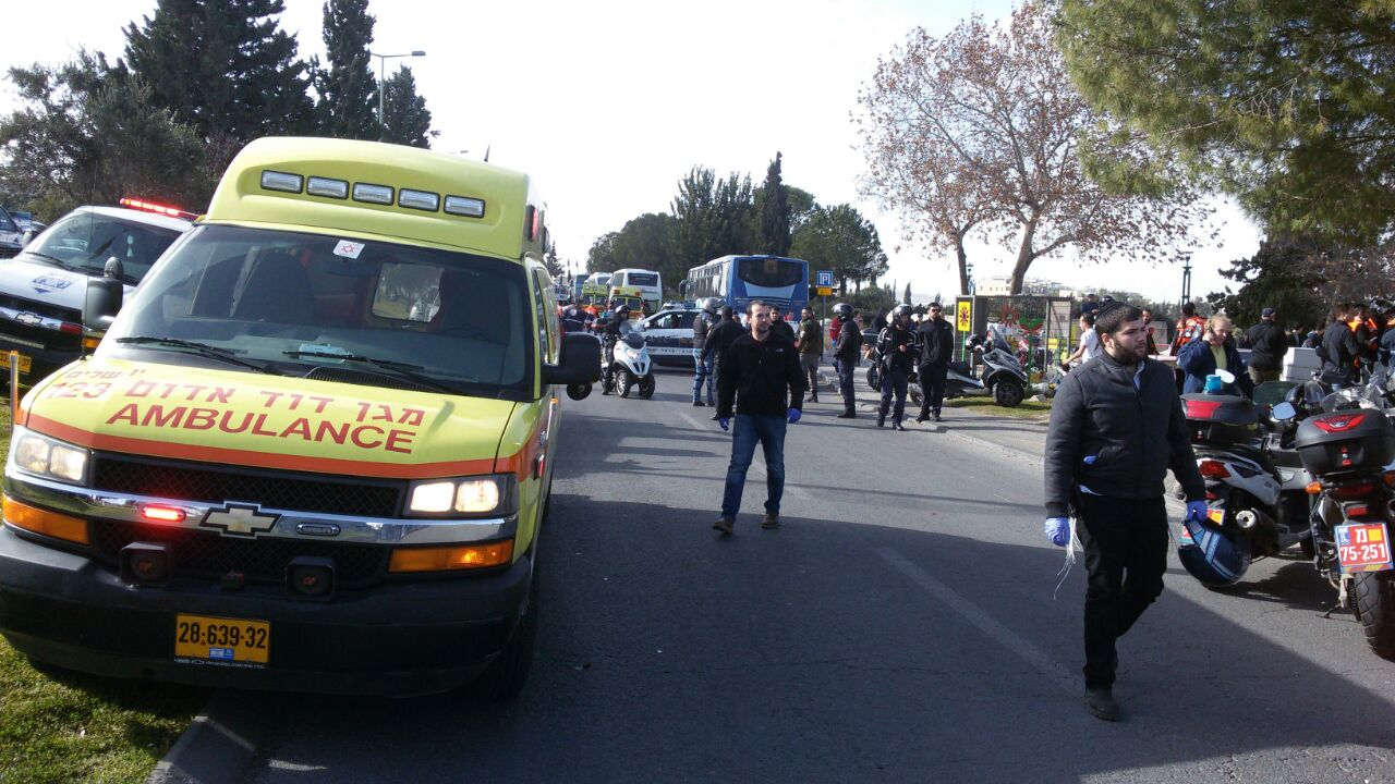 Four Dead In Jerusalem Attack As Truck Rams Into Soldiers