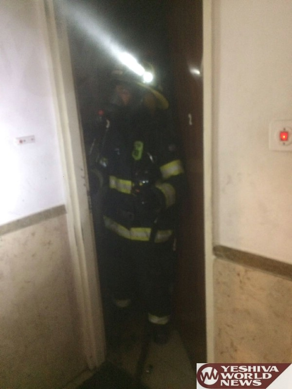 VIDEO/PHOTOS: Mom And Daughter Injured In Early AM Blaze In Jerusalem