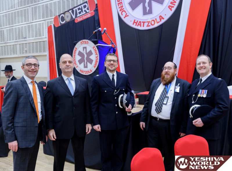 Photo Essay: Hatzolah London Annual Dinner