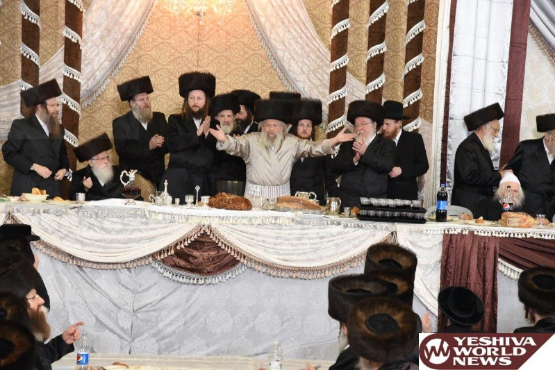 Photo Essay: Wedding For A Granddaughter Of The Pinsk Karlin Rebbe (Photos by JDN)