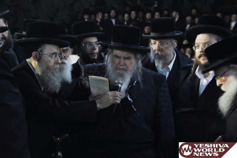 PHOTOS: Levaya Of The Bilgoray Rebbitzen - The Mother Of The Belzer Rebbe