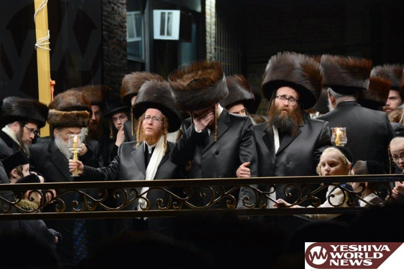 Photo Essay: Wedding In The Courts Of Spinka - Gorlitz, Serdaheli And Satmar Manchester (Photos by JDN)