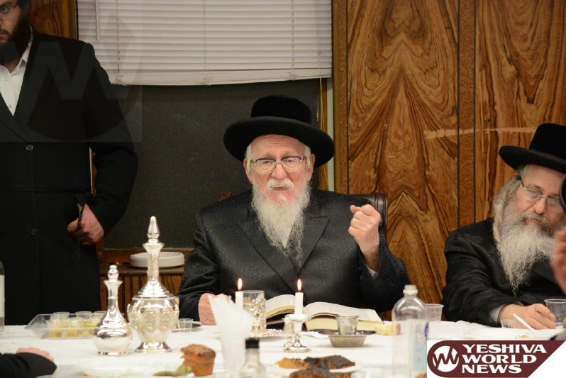Photo Essay: Yartzeit Of Rav Shalom Of Nadvorna Marked By The Nadvorna Rebbe (Photos by JDN)