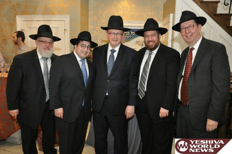 Photos From The Shuvu Lakewood Reception At The Home Of Mr. And Mrs. Schneur Stefansky