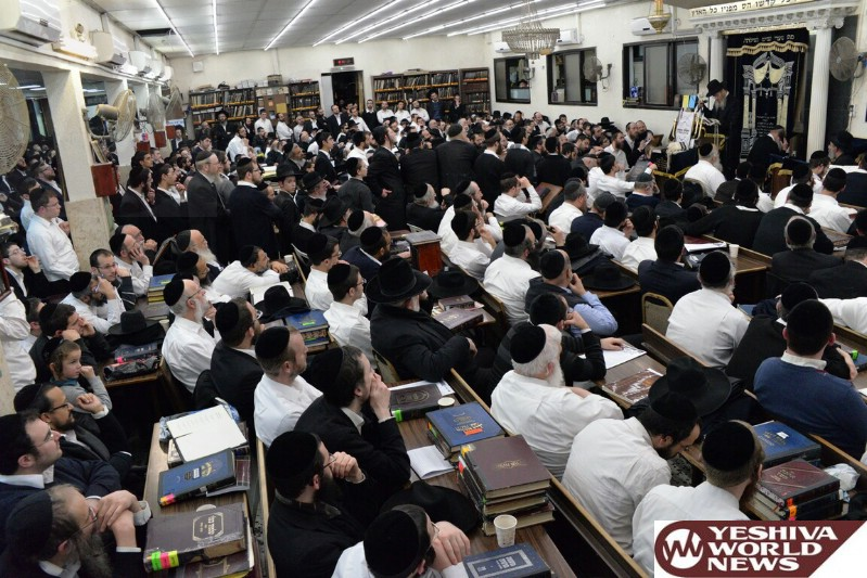 Photo Essay: The Mashgiach Hagaon HaRav Don Segal Giving A Shmooze In Kollel Nachlas Moshe In Bnei Brak (Photos by JDN)