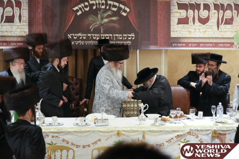 Photo Essay: Sheva Brachos For Granddaughter Of The Satmar Rebbe Made By The Siget Kehilah In Boro Park (Photos by JDN)