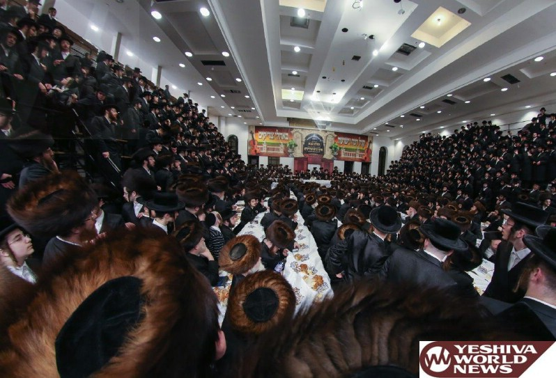 Photo Essay: The Satmar Rebbe Of Williamsburg On Motzei Shabbos In Boro Park After Shabbos Sheva Brachos For His Granddaughter (Photos by JDN)