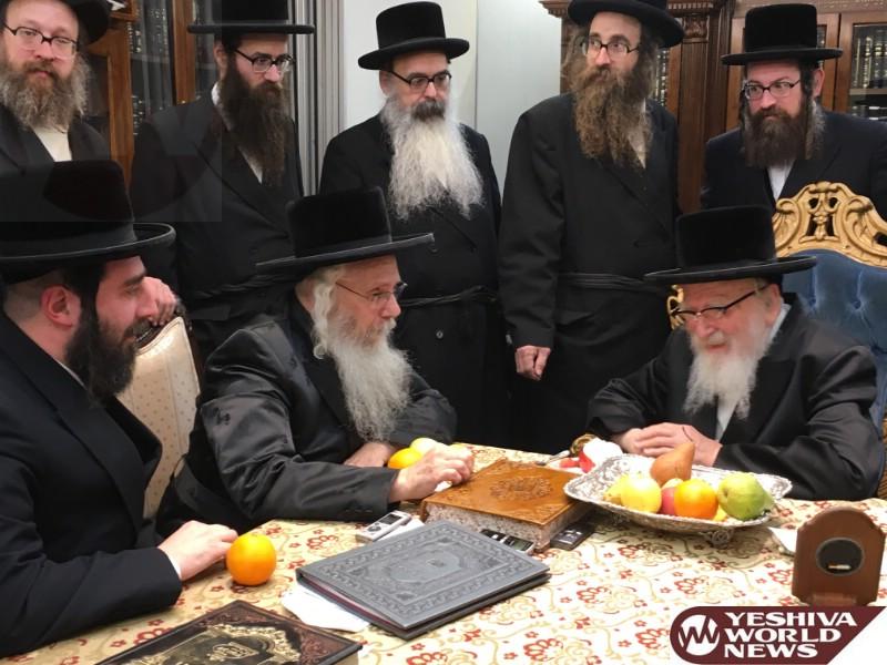 Photo Essay: Hivniv Rebbe Visiting The Skver Rebbe (Photos by JDN)