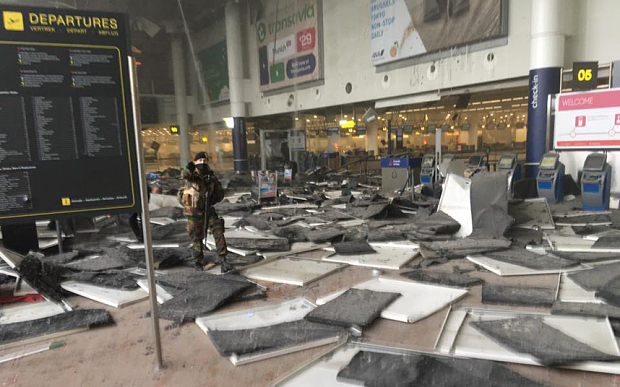 ISIS Suicide Bombers at Brussels Airport 'Targeted US Airline, Hasidic Jews'