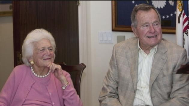 Bush Ready to Leave Intensive Care, Wife Barbara Goes Home