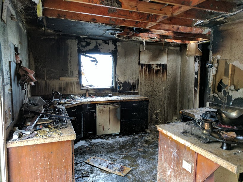 Raging Fire Displaces Outreach Family