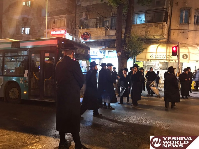 9 Chareidim Arrested In Continued Protests