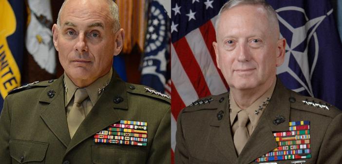 Gen. James Mattis, Gen. John Kelly Confirmed For Trump Cabinet Spots