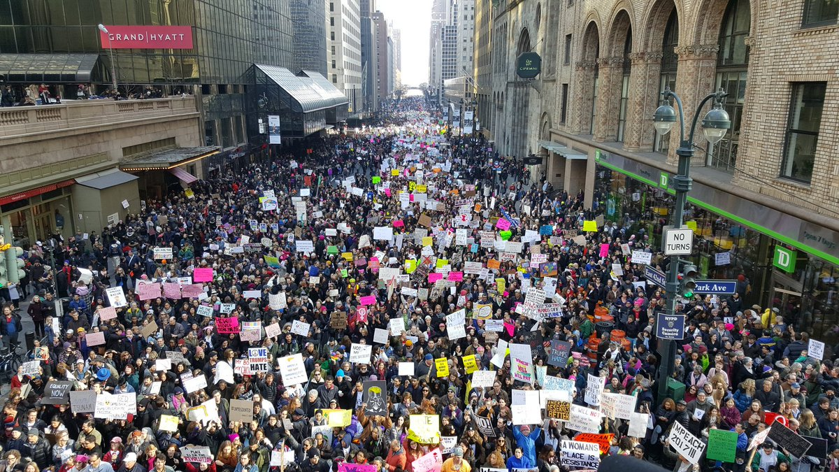 Over 1 Million Join Anti-Trump Women's Marches Worldwide [VIDEOS]
